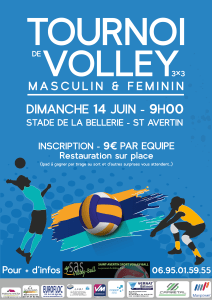 Affiche Marine Volley-01