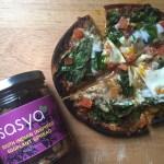 11Picture of Eggplant Spinach Pita Pizza with Sasya Eggplant Spread
