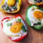 11Image of Baked Egg Bell Pepper Cups from MeagsEggs