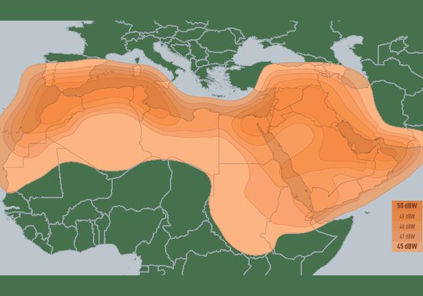 Eutelsat25b-footprint
