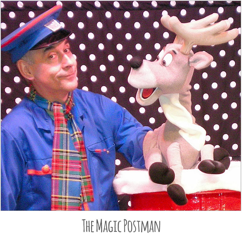 The Magic Postman & Reindeer (Image)