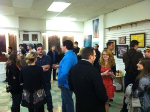 Gallery Show Opening Night