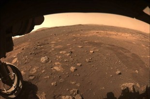 Persistence for the first time advances across the terrain of Mars