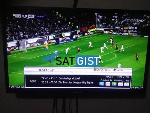 M4 Sport HD And Sport 1HD CCCAM For Eutelsat 9A At 9E - SatGist com