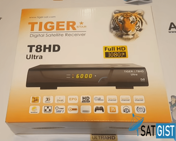 Tiger T8HD Ultra Receiver Price And Full Specifications