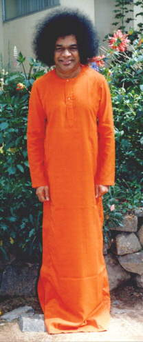 picture of Swami standing