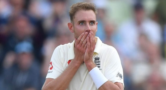England paceman Stuart Broad said he felt frustrated and angry at having