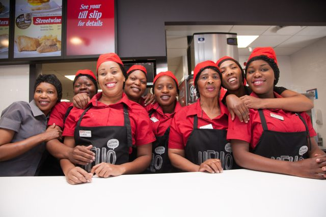 KFC has vacancies available to applicants with a minimum of excellent communication skills