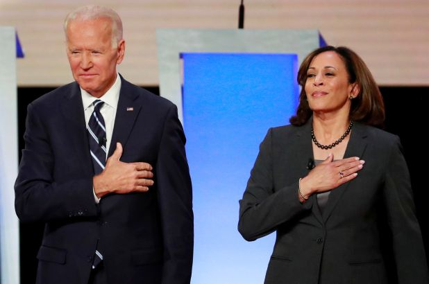 For Biden, a choice with a personal tie to his son Biden had seriously vetted nearly a dozen contenders -- all women -- before making his selection, which unfolded with the utmost secrecy after a week in which he had spoken with the contenders either in person or in face-to-face meetings. A Biden official said the former vice president had called Harris 90 minutes before the announcement to offer her the job