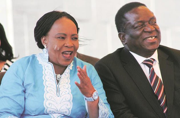 The first lady also denied illegal dealings with Henrietta Rushwaya - a suspect in a high profile gold-smuggling case who was arrested last Monday while carrying 6kg of gold in her hand luggage at Harare International Airport on her way to Dubai.