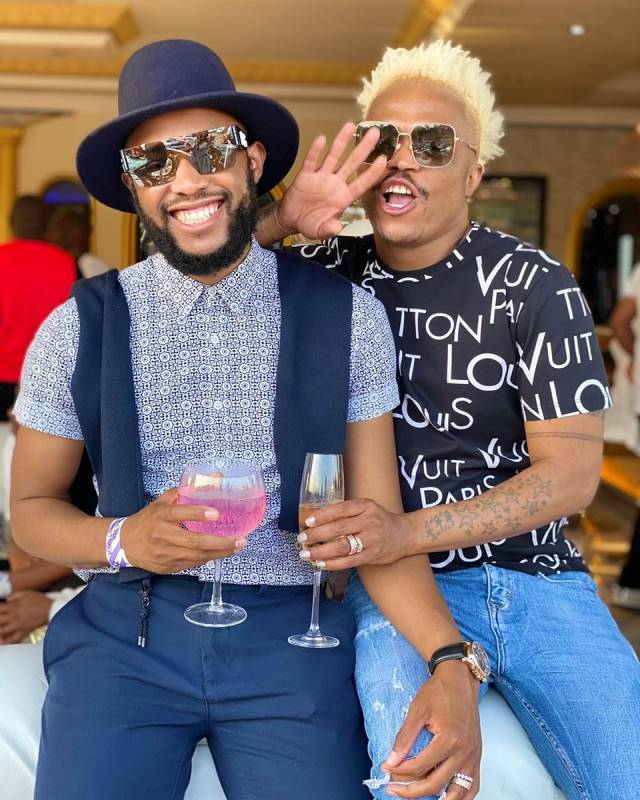 Somizi Deletes More Than 35 Pics Of Mohale On Instagram