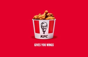 KFC give you wings? KFC 'borrows' slogans fingers still shouldn't be licked
