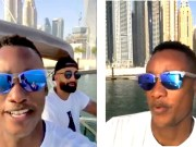 Duduzane Zuma seems to be enjoying Dubai – but he could be in trouble if authorities notice