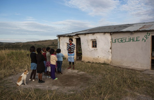 99% of public schools in the Eastern Cape are pit latrines abound
