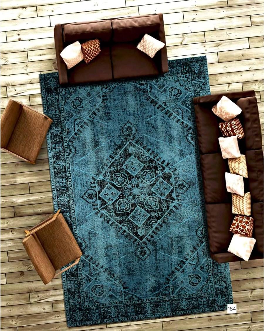 שטיח טורקיז איזבל