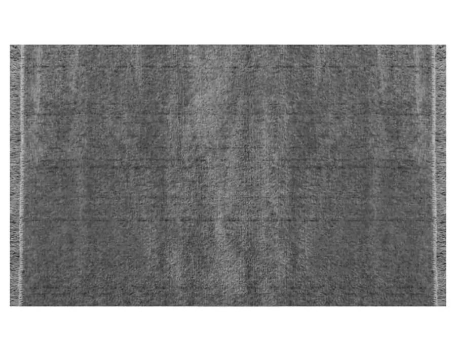 דומיניק שטיח פרווה אפור כהה