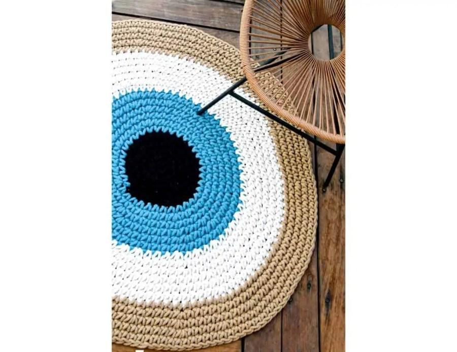 שטיח חמסה טורקיז