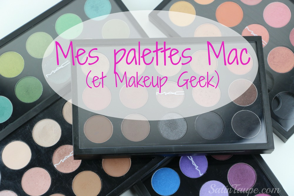 Mes palettes Mac