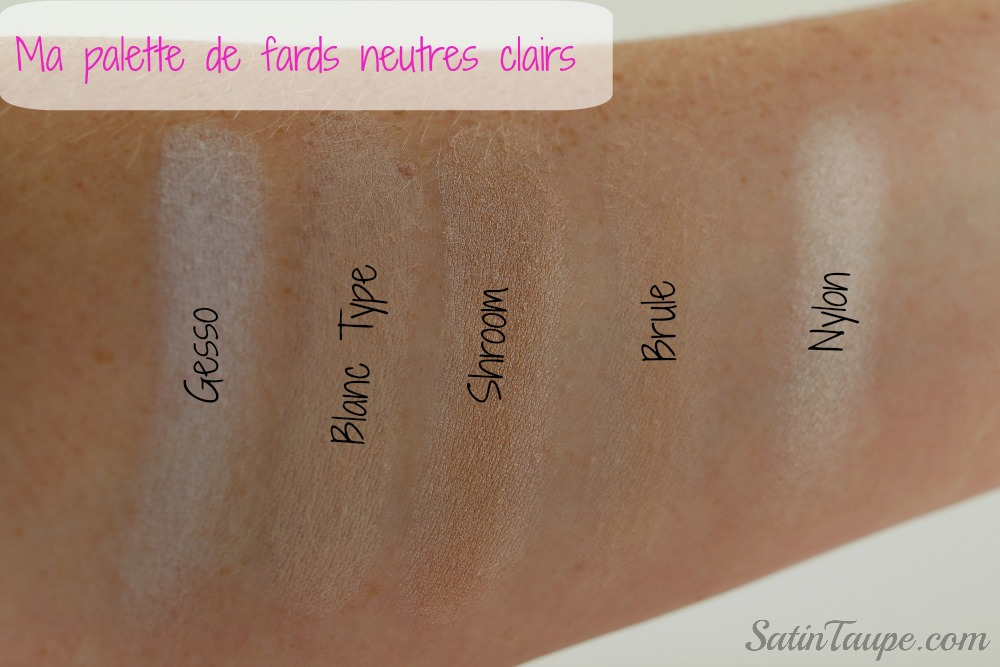 Palette Mac Neutre clair 5