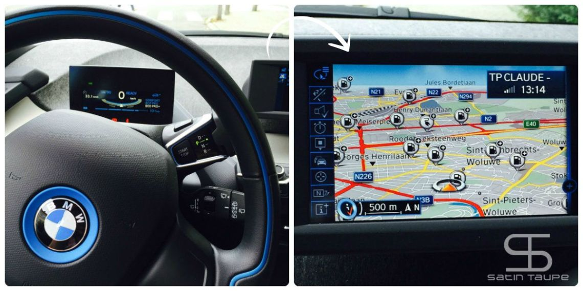 BMW i3 multimedia
