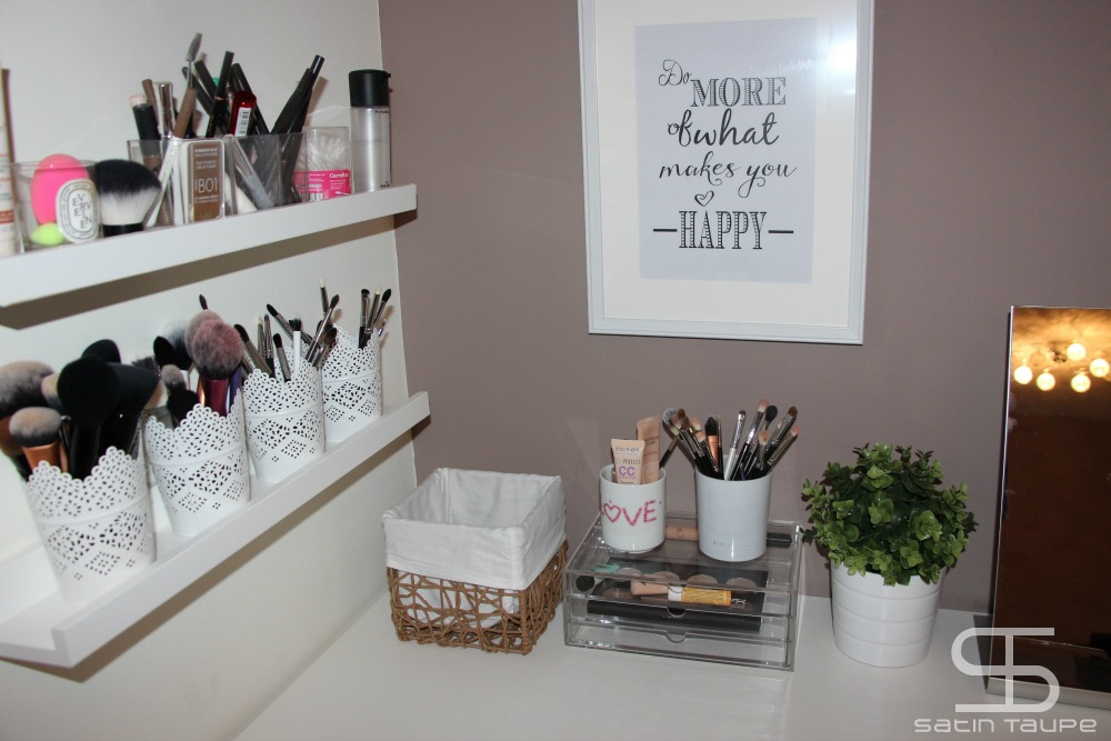 Organisation maquillage