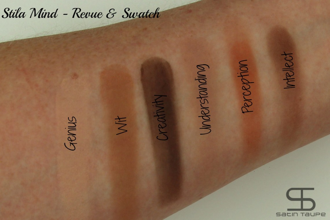 Stila eyes are the window revue et swatch