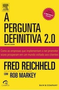 """Livro """"A Pergunta Definitiva 2.0"""", de Fred Reichheld"""