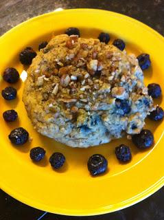 Regular Scone made in Muffin-Top Pan.