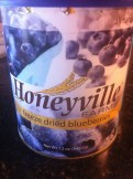Buy these, freeze dried blueberries.