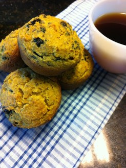 Blueberry-Lemon Muffins (or Scones)