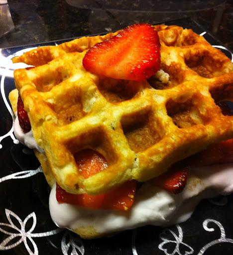 Breakfast or Dessert Waffles?!?!