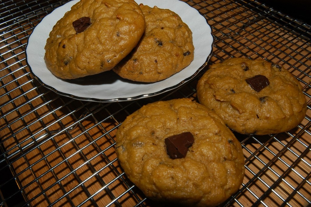 Chocolate Chip Cake Cookies and Facing my Food Addictions