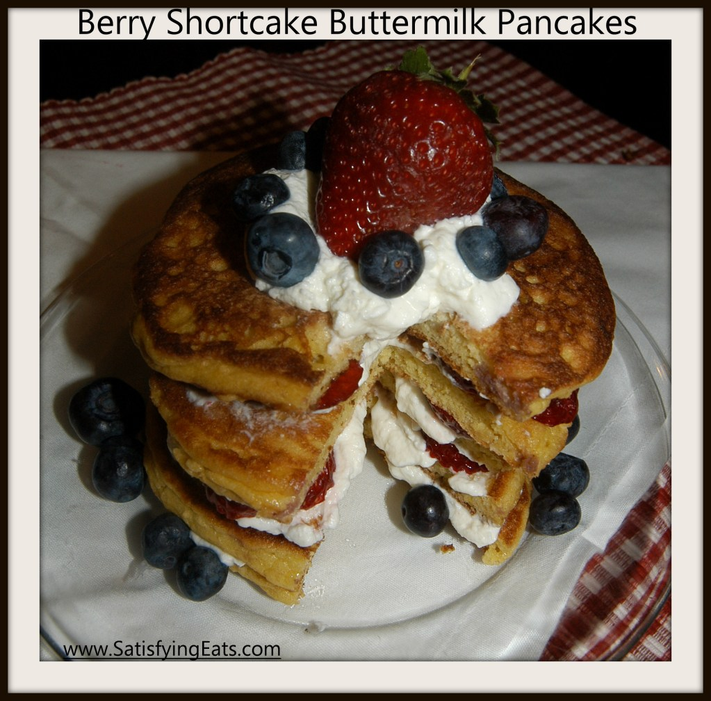Strawberry Shortcake Pancakes (THE BEST PANCAKES EVER!!)