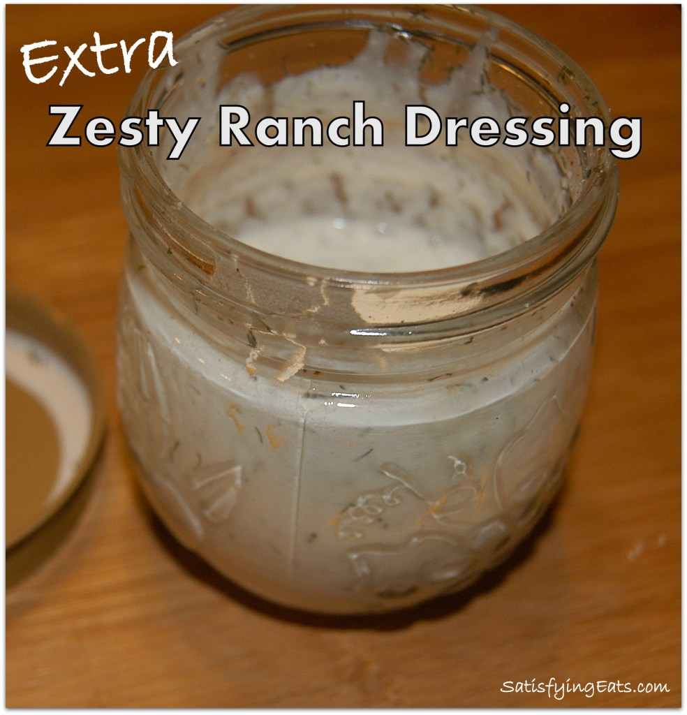 Extra Zesty Ranch Dressing