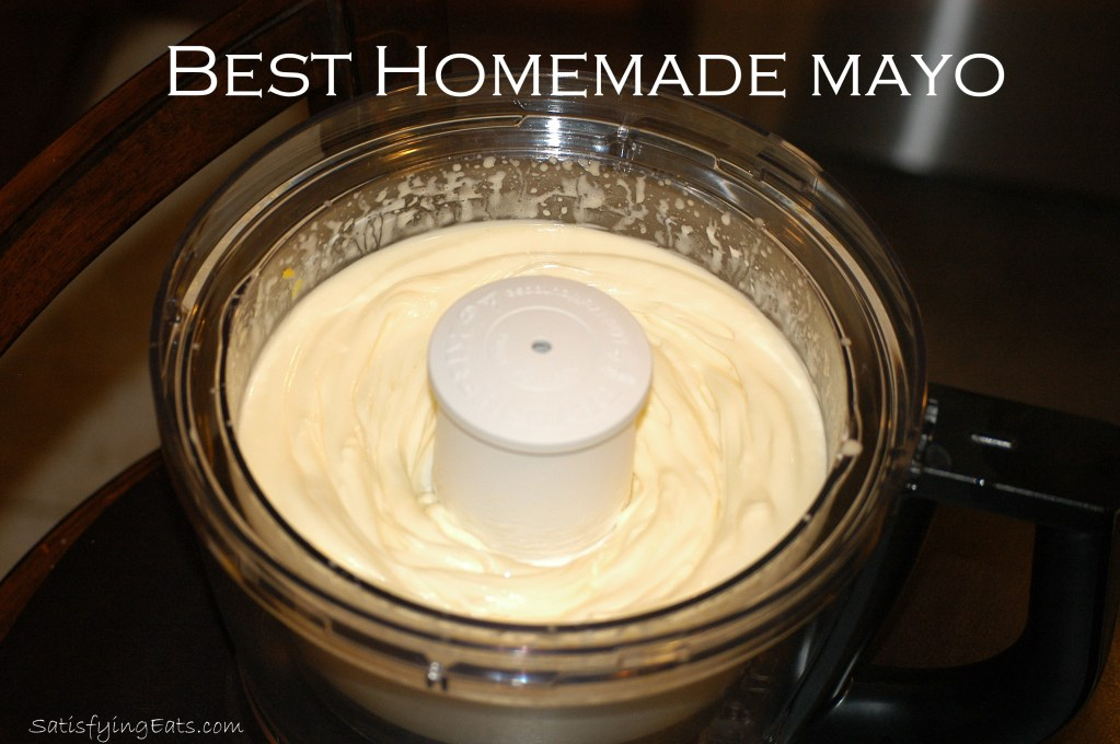 BEST Homemade Mayo (Updated: Magical 1-Minute Mason Jar Mayonnaise)