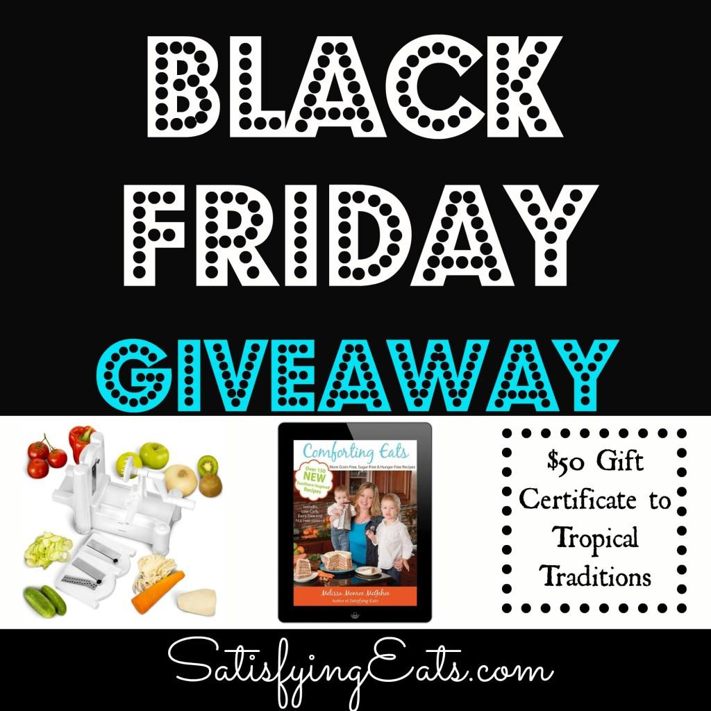 Black Friday Giveaway & Deals