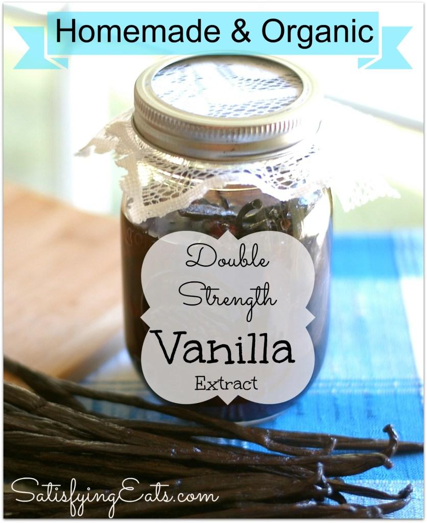 Homemade Double-Strength Vanilla Extract