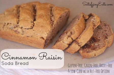 Cinnamon Raisin Soda Bread