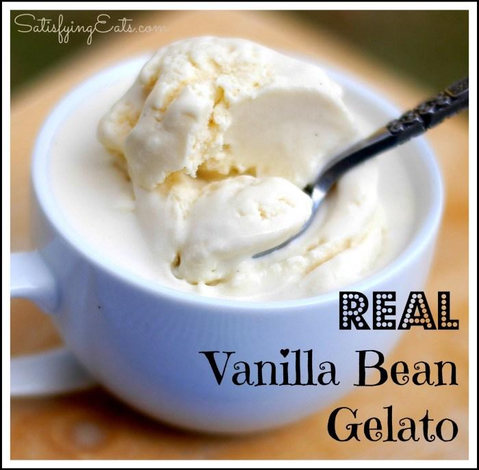 Real Vanilla Bean Gelato