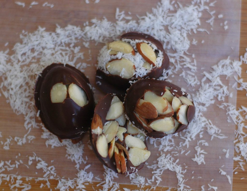 3-Ingredient Almond Joy Bites