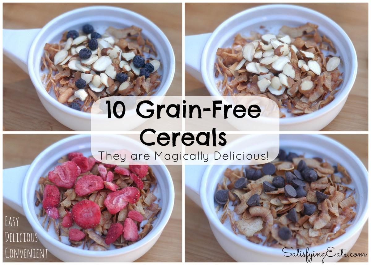10 Grain Free Cereal Recipes More Breakfast Ideas