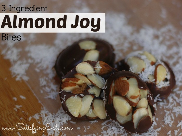 3-Ingredient Almond Joy