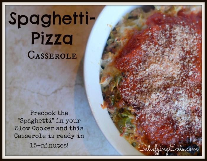 Spaghetti Pizza Casserole1