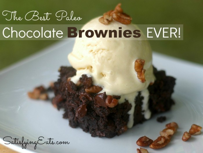 The Best Paleo Chocolate Brownies EVER
