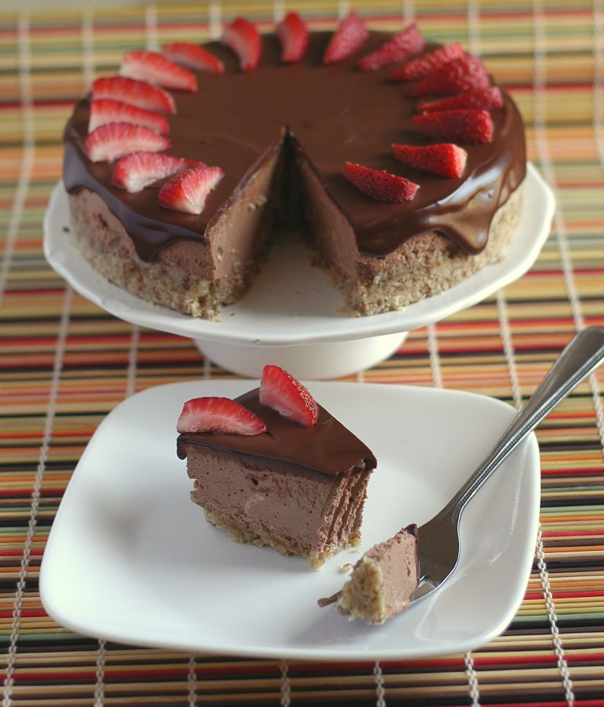 Low-Carb Godiva Chocolate Cheesecake