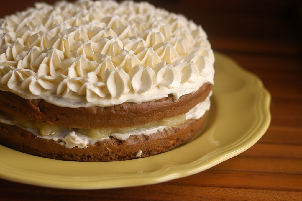 NEW Old-Fashioned Carrot Cake with Pineapple Filling
