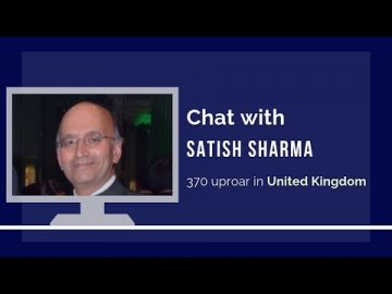 Satish Sharma on why the UK and BBC are outraging on Article 370
