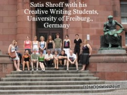 Satis Shroff's Creative Writing Semester, University of Freiburg