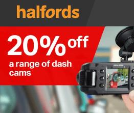 Halfords Dash Cam Promo