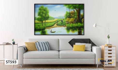 Tranh sơn dầu phong cảnh